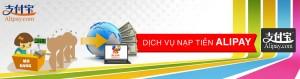 Nhận nạp tiền Alipay