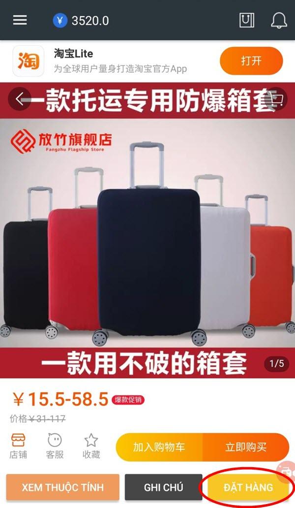 Đặt hàng hộ Trung Việt dễ dàng hơn với ứng dụng Nhanshiphang