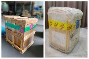 Nhanshiphang đóng gỗ vẫn chuyển Trung Việt