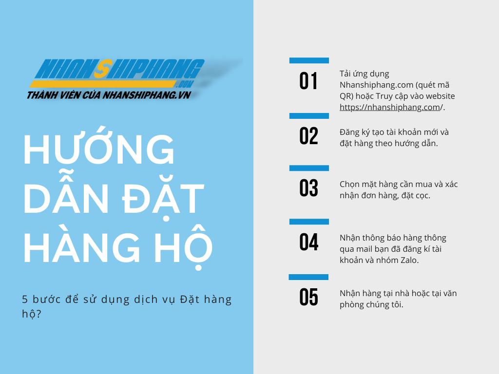 Huong dan dat hang ho tren ung dung Nhanshiphang.com