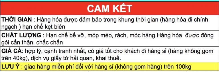 Hạn chế rủi ro với dịch vụ ship hàng Quảng Châu về Việt Nam