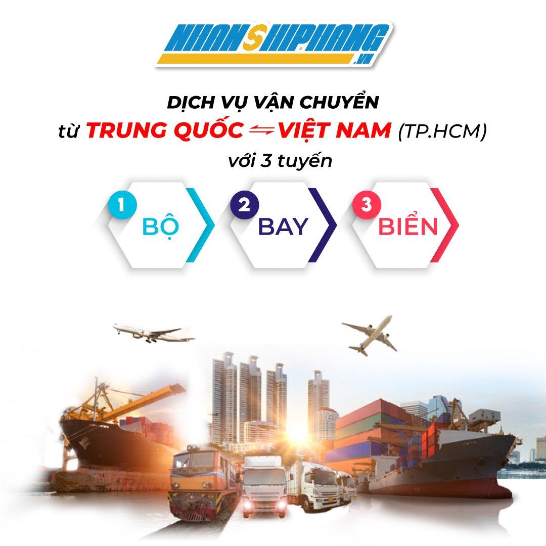 Van chuyen hang hoa tu Trung Quoc ve Viet Nam TPHCM